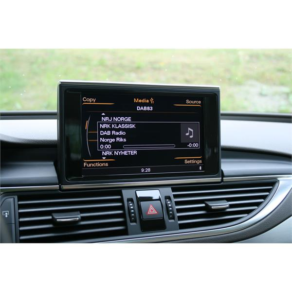 DBU3GEN Dension Audio Systems Ltd.  DENSION DAB/DAB+ MOTTAKER DAB-integrering via USB-inngang