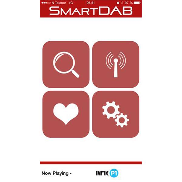 SMARTDAB Connects2 Artnr 5055193375058 SmartDAB AUX - Med antenne DAB-integrering via App & Aux