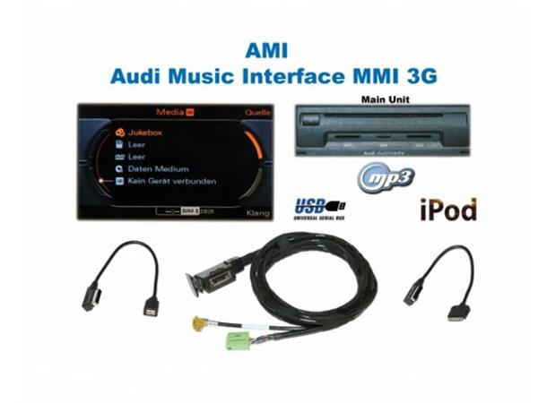 kufatec audi music interface ami a6 a7 2010 2014 m mmi 3g usb autohifi as. Black Bedroom Furniture Sets. Home Design Ideas